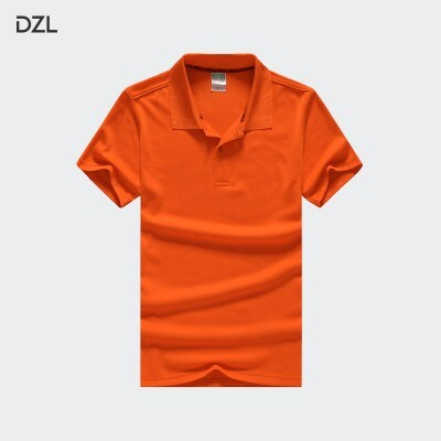 polo衫定制t恤印字logo企业diy衣服文化广告衫工衣订做短袖工作服(不含印图)