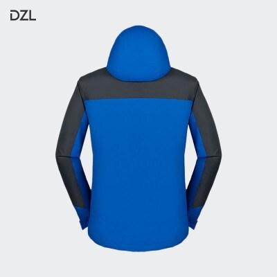 冲锋衣外卖工作服定制长袖外套印字印logo衣服订制卫衣冬装定做(不含印图)