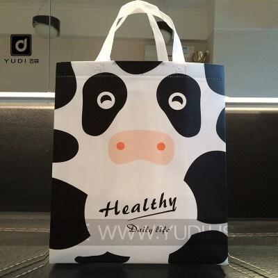 无纺布覆膜可爱卡通礼袋 幼儿园赠礼儿童礼品袋 商场促销礼品袋