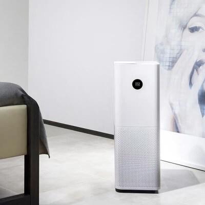 小米米家空气净化器pro 家用卧室静音智能除雾霾粉尘PM2.5 霾表屏幕显示AC-M3-CA 66W