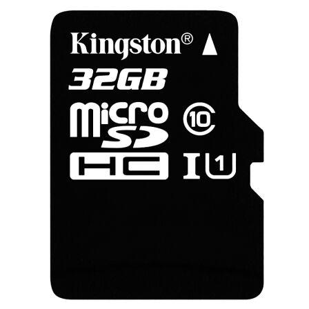 金士顿(Kingston)32GB 80MB/s TF(Micro SD)Class10 UHS-I高速存储卡
