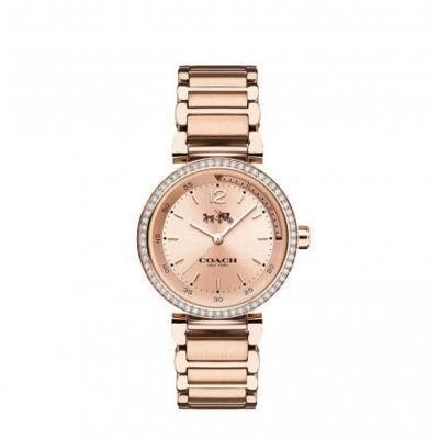 全球购 蔻驰(COACH)手表 钢带手链式女士腕表14502405系列 14502200