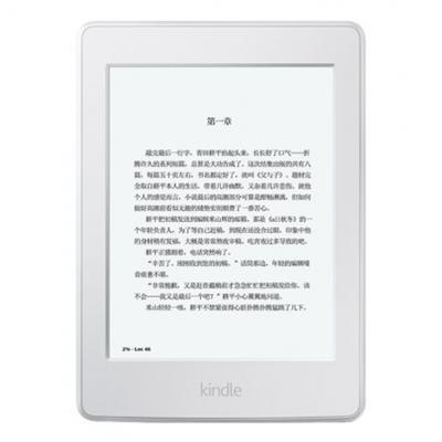 Kindle Paperwhite 全新升级版6英寸护眼非反光电子墨水触控显示屏 wifi 电子书阅读器 白色