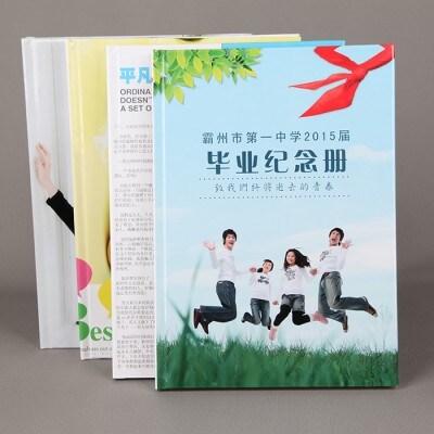 高档蝴蝶对裱精装纪念册画册相册