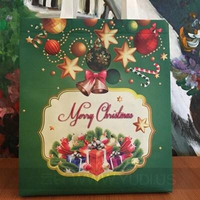 防尘无纺布袋子 圣诞节通用袋子 高档覆膜无纺布袋