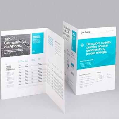 A4对折页宣传单210x285mm宣传单彩页印制双面印刷广告彩印彩页海报定制dm单页a4广告纸折页定做打印