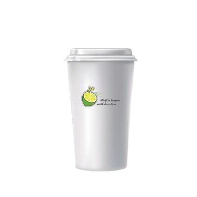 一次性纸杯特厚奶茶杯现磨豆浆纸杯加厚咖啡纸杯定做定制印LOGO热饮杯